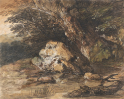 Thomas Gainsborough. Forest pond