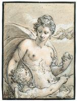 Хендрик Гольциус. Венера. Около 1596