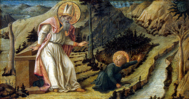 Фра Филиппо Липпи. Видение блаженного Августина