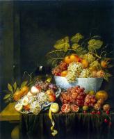 Адриан ван Утрехт. Натюрморт с виноградом