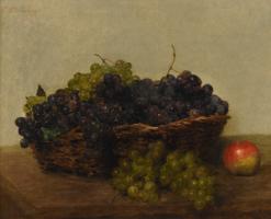 Виктория Дюбург (Фантен-Латур). Корзина с виноградом