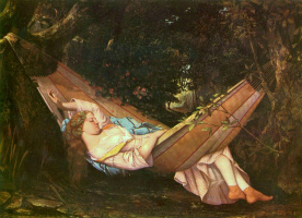 Gustave Courbet. Hammock