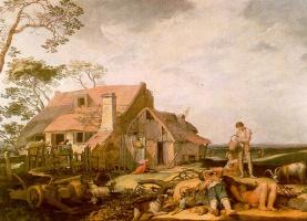 Абрахам Блумарт. Пейзаж с отдыхающими крестьянами