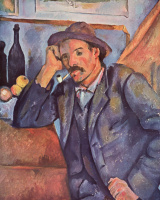 Paul Cezanne. Man with a pipe