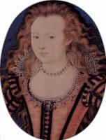Николас Хильярд. Портрет Елизаветы, королевы Богемии