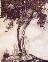 Артур Рэкхэм. Дерево боярышника