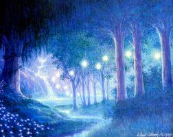 Гилберт Уильямс. Ночной лес