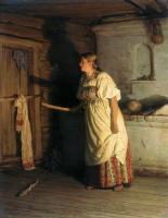 Василий Максимович Максимов. Кто там.? 1879