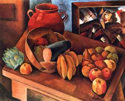 Моисей Кислинг. Натюрморт с фруктами