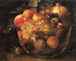 Филиппо Наполетано. Ваза с фруктами