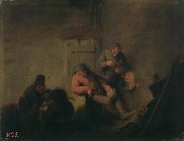 Адриан Янс ван Остаде. Деревенская кухня