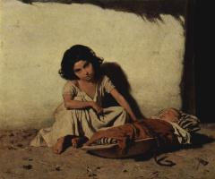 Август Ксавер Карл фон Петтенкофен. Цыганские дети