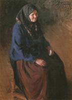Иван Семенович Куликов. Портрет моей матери. 1903