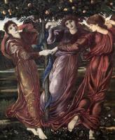 Edward Coley Burne-Jones. Hesperides Garden