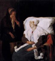 Габриель Метсю. Больная женщина