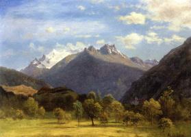 Альберт Бирштадт. Альпийский пейзаж