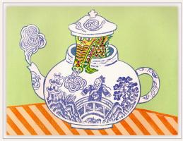 Бернард Лодж. Чайник