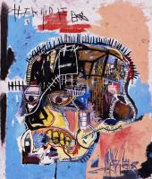 Jean-Michel Basquiat. Untitled (Skull)