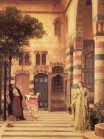 Frederic Leighton. Old Damascus, Jewish quarter