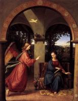 Julius shnorr fon Karol'sfel'd. The Annunciation To The Most Holy Theotokos