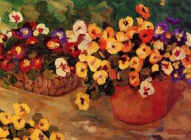 Лилиан Фурнье. Цветы