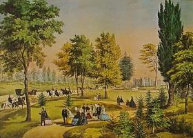 Хесус Эльгера Аусенсиа. Прогулка в парке