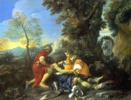 Пьером Франческо Мола. Меч на земле