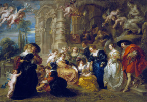 Peter Paul Rubens. The garden of love