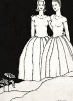 Доротея Таннинг. «Братство женщин» (иллюстрация к ежегоднику Колледжа Нокса)
