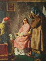 Николай Васильевич Неврев. Знахарка. 1895