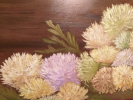 Валерия Костромина. Хризантемы