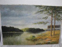 Герман Хрис. Осеннее озеро