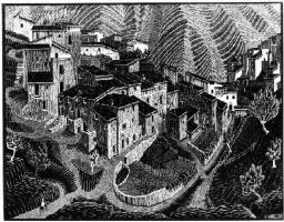 Maurits Cornelis Escher. Fara San Martino, Abruzzi