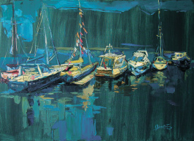 Tatyana Ocheredko. The emerald boat
