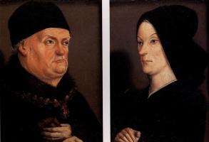 Никола Фроман. Портреты короля Рене и Жанны де Лаваль