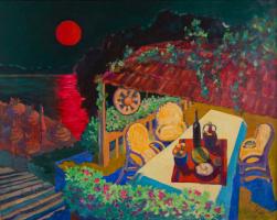 Екатерина Антропова. Багряная роза луны, восходящая столь неуместно