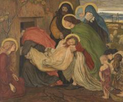 Форд Мэдокс Браун. Погребение Иисуса апостолами