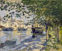 Claude Monet. The Seine at Rouen
