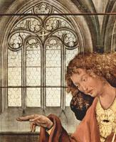 Маттиас Грюневальд. Вторая лицевая сторона, левая створка