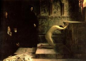 Филипп Эрмогенес Кальдерон. Отречение от мира святой Елизаветы Венгерской