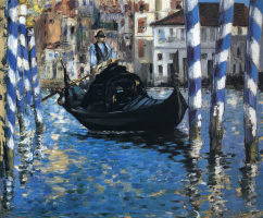 Edouard Manet. The Grand Canal of Venice (Blue Venice)