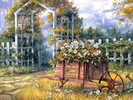 Майкл Хамфрис. Залитая солнцем поляна