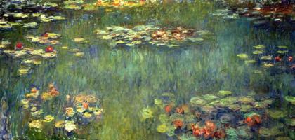 Клод Моне. Пруд с водными лилиями