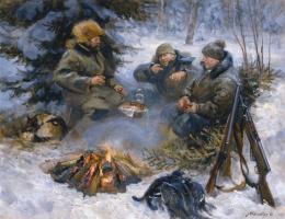 Игорь Геннадьевич Машков. Охотничьи рассказы в тайге у костра.