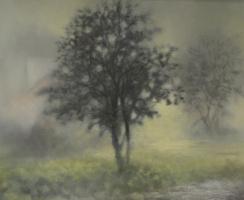 Michael Spiridonov. The garden with rain