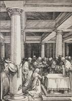 Альбрехт Дюрер. Принесение младенца Христа в храм