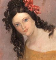 Фридрих фон Амерлинг. Молодая женщина.
