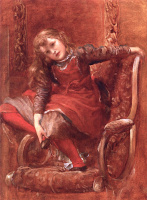 George Frederick Watts. Physical energy, detail
