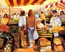 Джордж Дедоуард. На рынке