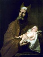 Хосе де Рибера. Св. Симеон с младенцем Христом